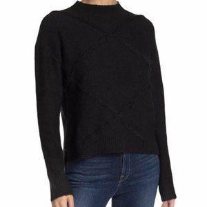 NWT knit black sweater - size xl
